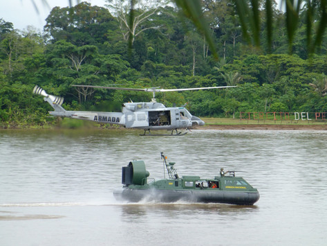 Guerra de aguas marrones en Colombia