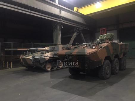 El blindado Guaraní ya comenzó las pruebas con el Ejército Argentino