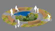 Shortlisted for KLC alumni competition for an RHS Hampton Court show garden !
