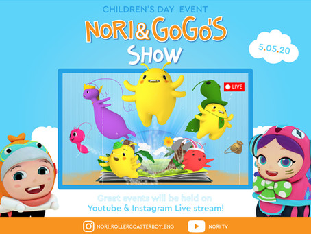 Nori & Gogo's Live Show on Instagram & Youtube!