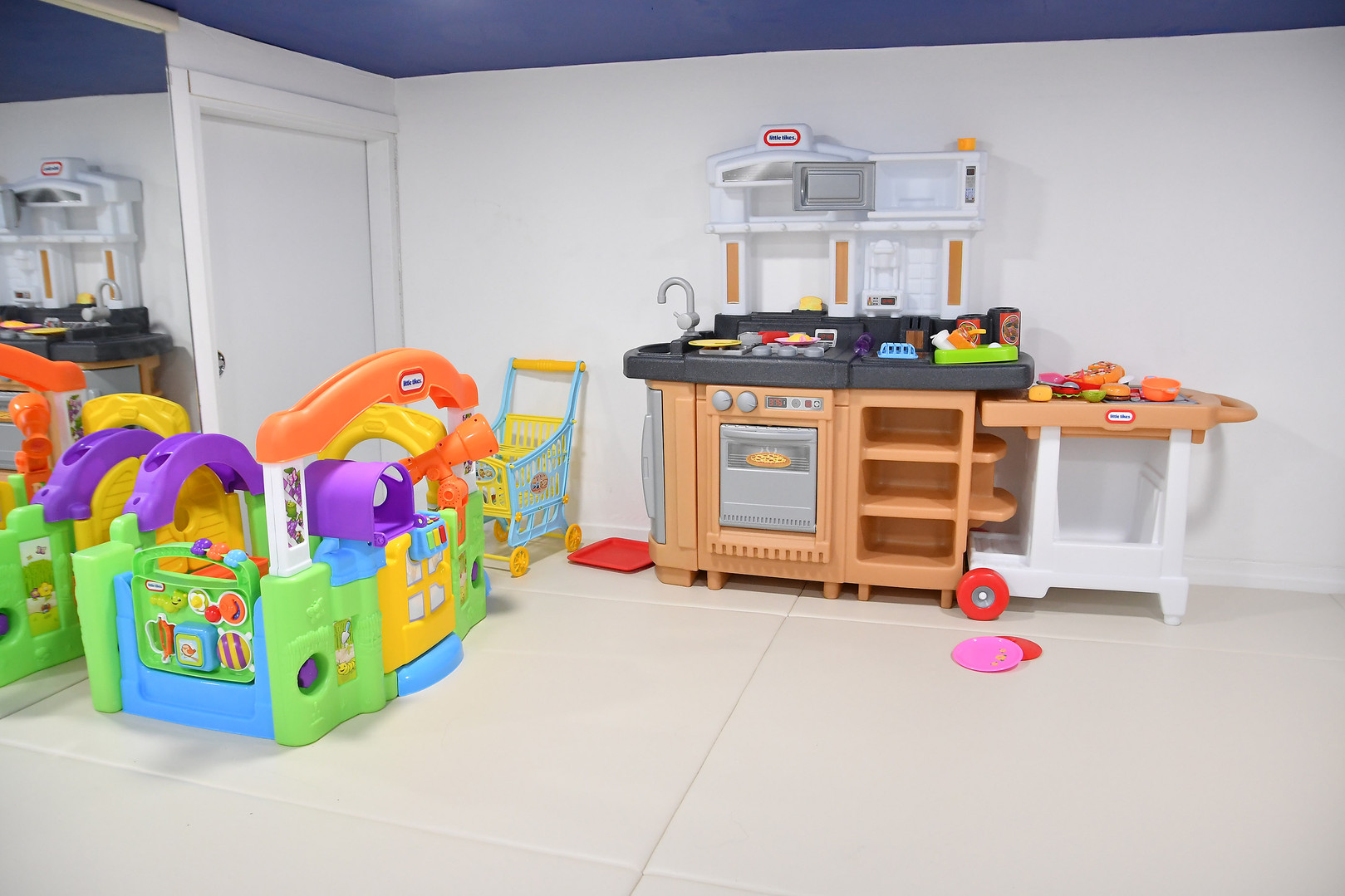 Kids Indoor Playground Kitchen Soft Play Equipment