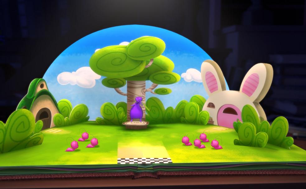 The Story of Bookworm Gogo Animation