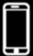 White icon software smartphone