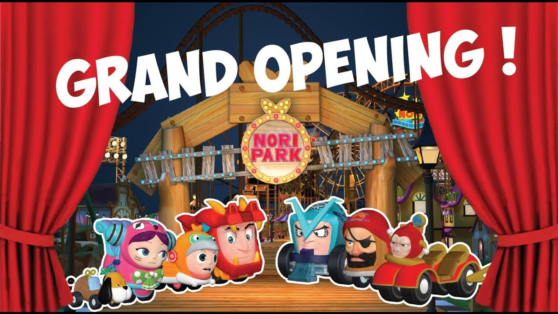 Grand Opening of Nori Rollercoaster Boy