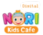 colorful logo for kids cafe, theme park, indoor playground for kids