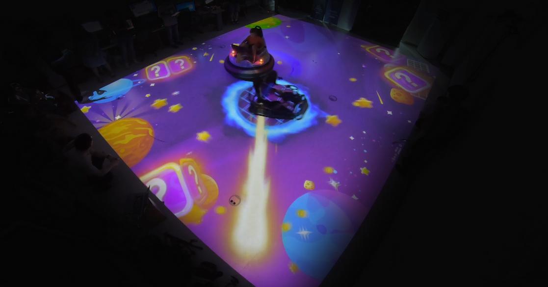 Interactive, Fun and Innovative Bumper Car Game