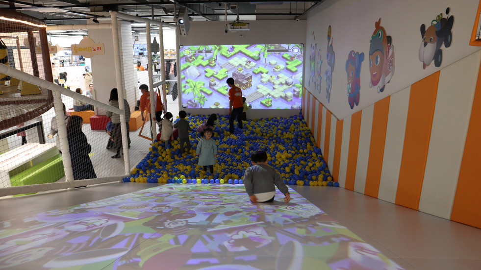 Nori Digital Kids Cafe, Lotte Mart, Icheon, Korea