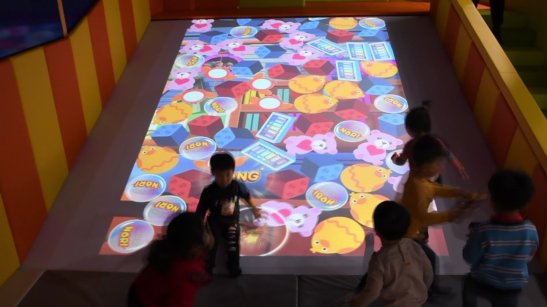 Interactive Slide Projection Game