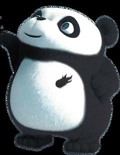image of a baby panda cartoon animation
