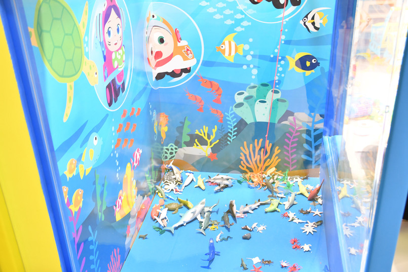 Kids Indoor Playground Catch Fish Play Activity