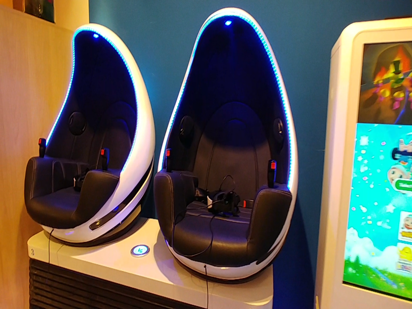 Virtual Reality Chair Interactive Games