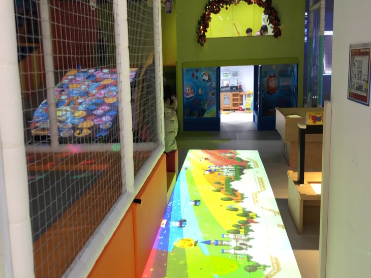 Interactive Floor Projection System