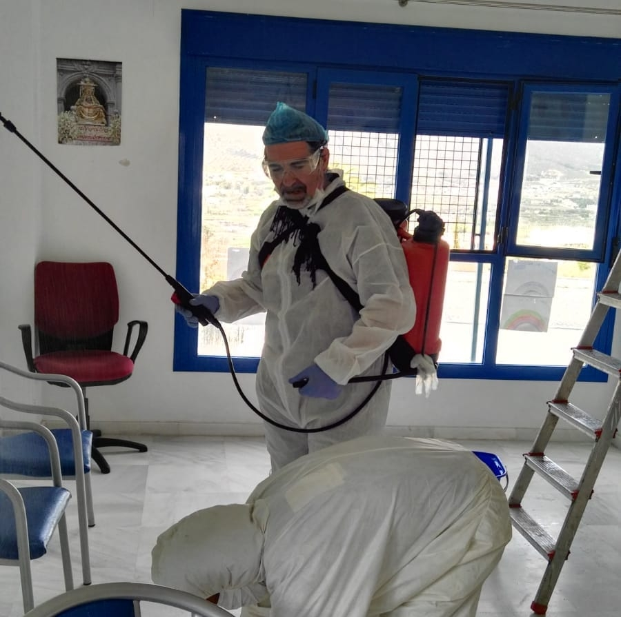 Desinfección COVID19 Granada