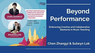 Beyond Performance_ Embracing Creative a