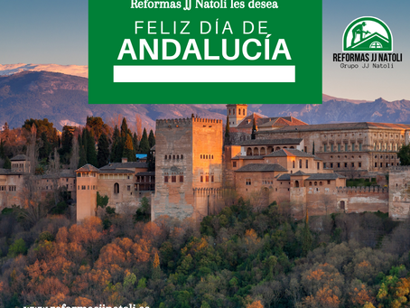 Reformas JJ Natoli les desea Feliz dia de Andalucía