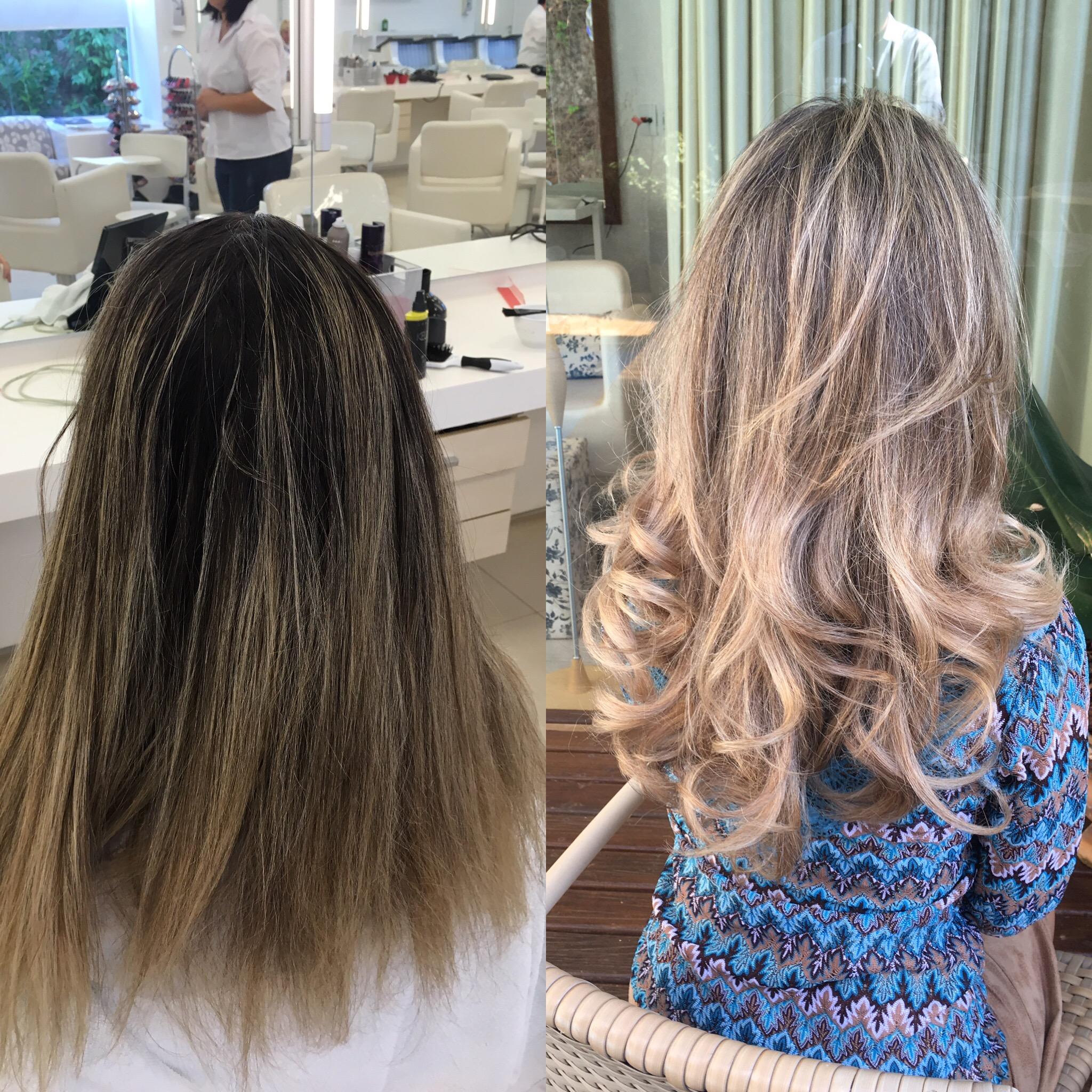 Antes e Depois das luzes