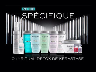 Spécifique de Kérastase: um verdadeiro detox para o couro cabeludo