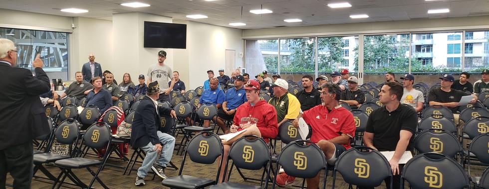 Coaches Meeting at Petco Park