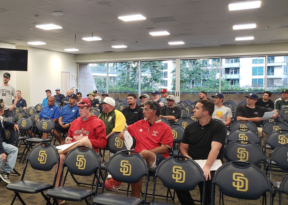 Coaches Meeting at Petco Park