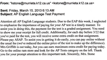 Don't Pay for Extra-Credit - It is an Illegal Pupil Fee