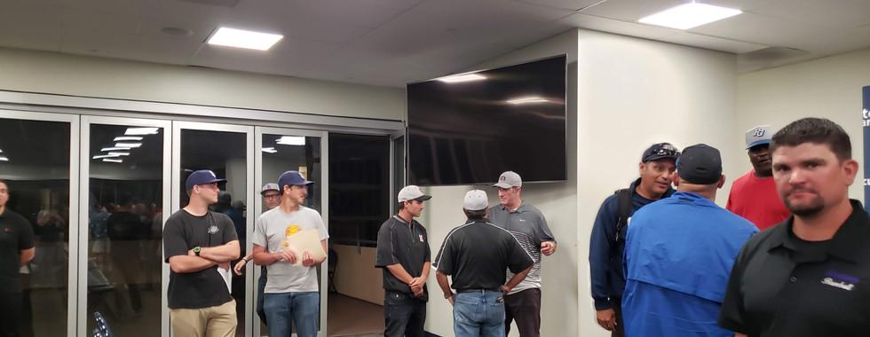 Coaches season meeting at Petco Park