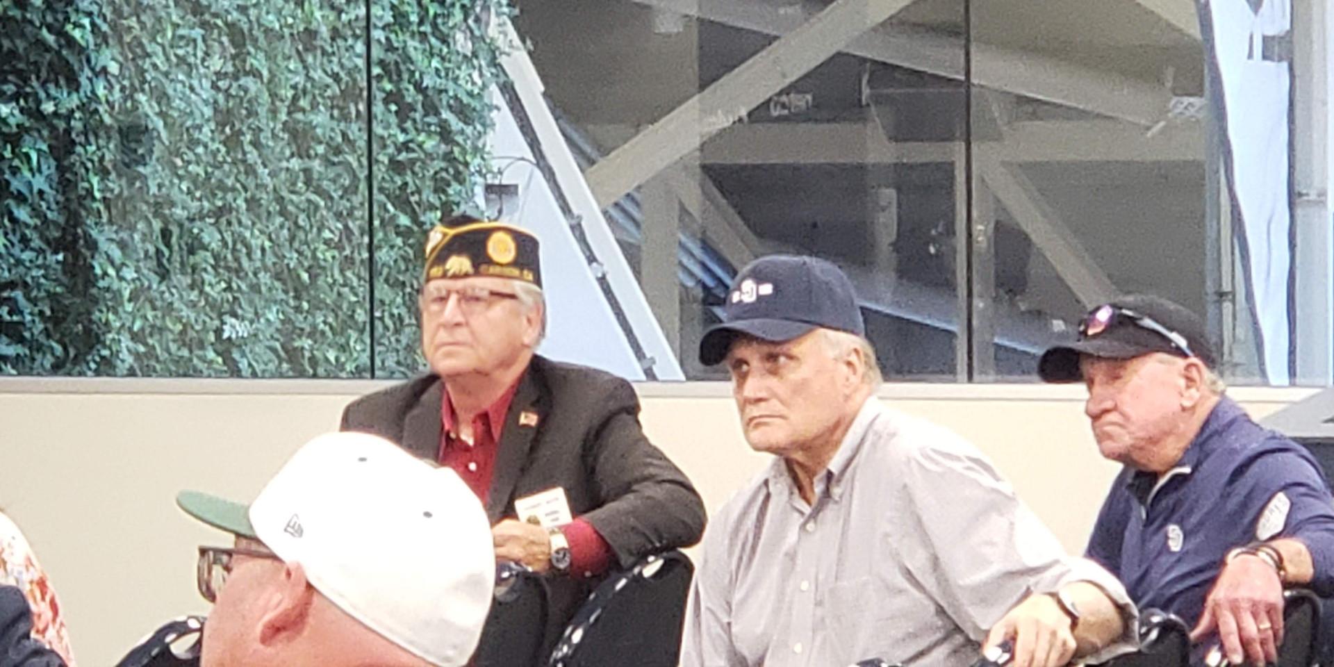 Bob Boyd CA State Legion Baseball Commissioner and JJ Quinn