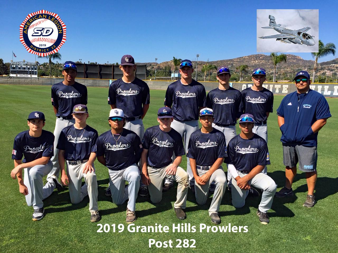 Post 282 Granite Hills Prowlers