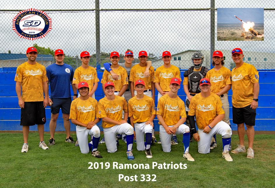 Post 332 Ramona Patriots