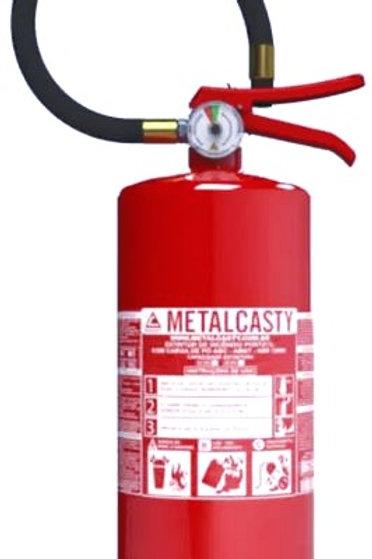 Extintor de Incêndio Pó Químico Seco ABC