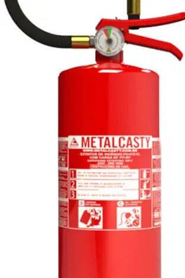 Extintor de Incêndio Pó Químico Seco BC