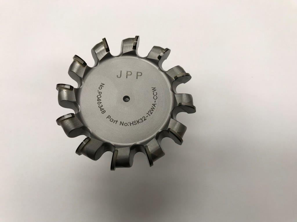 12 TOOTH (Reverse) CCW MILLING CUTTER FOR MODULE XT