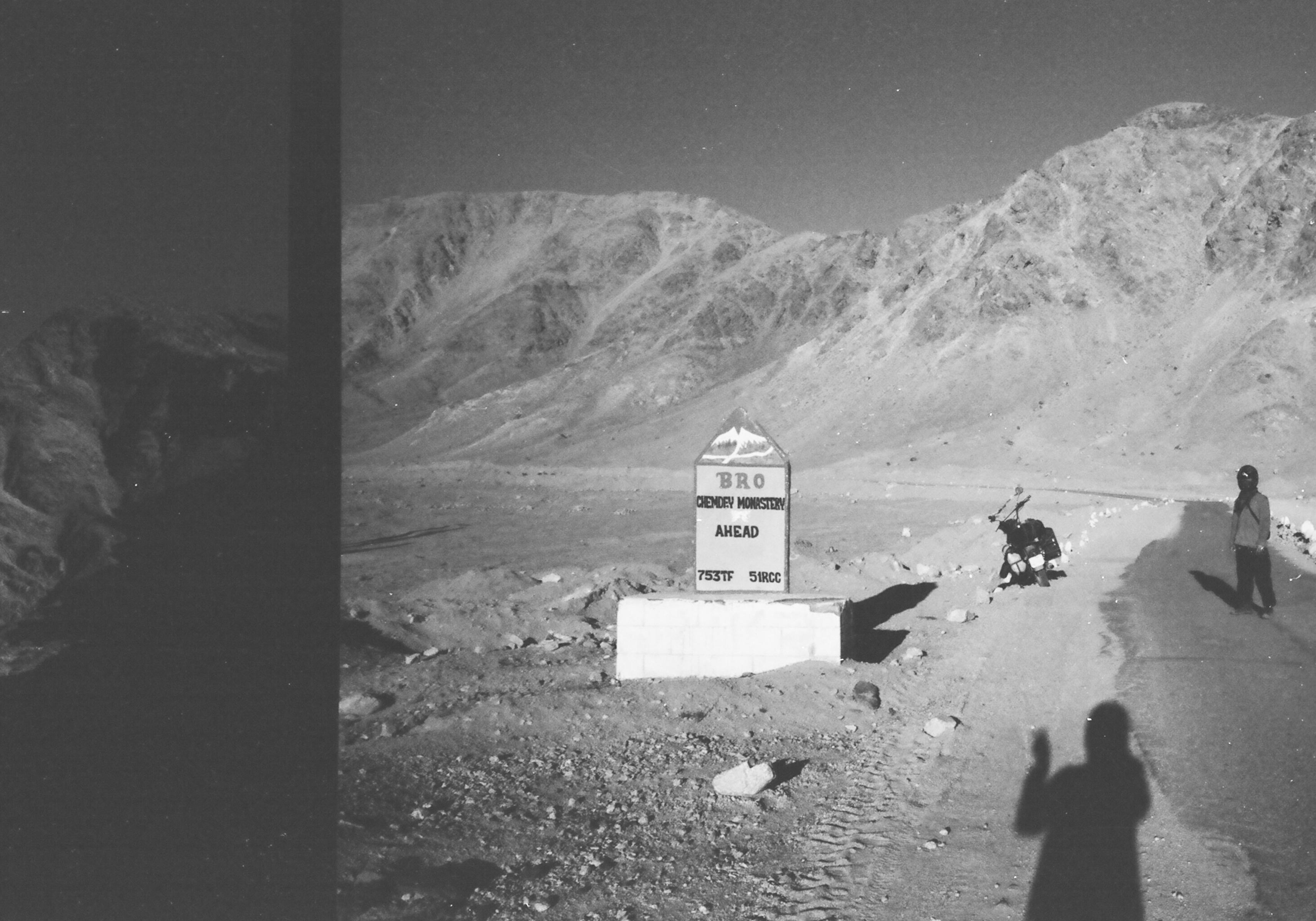 India Ladakh landscape motorcycle