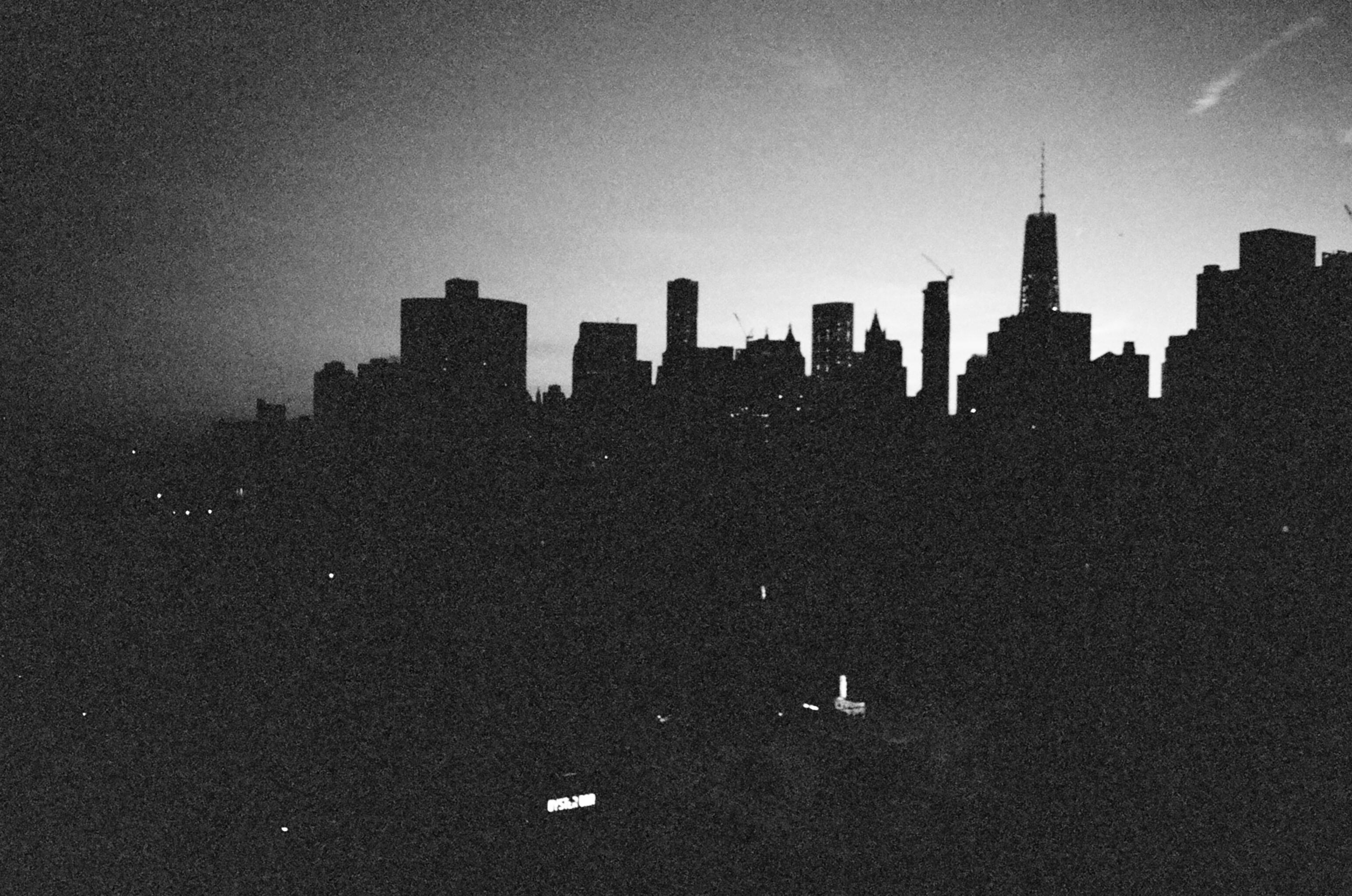 NYC skyline 35mm film OWT