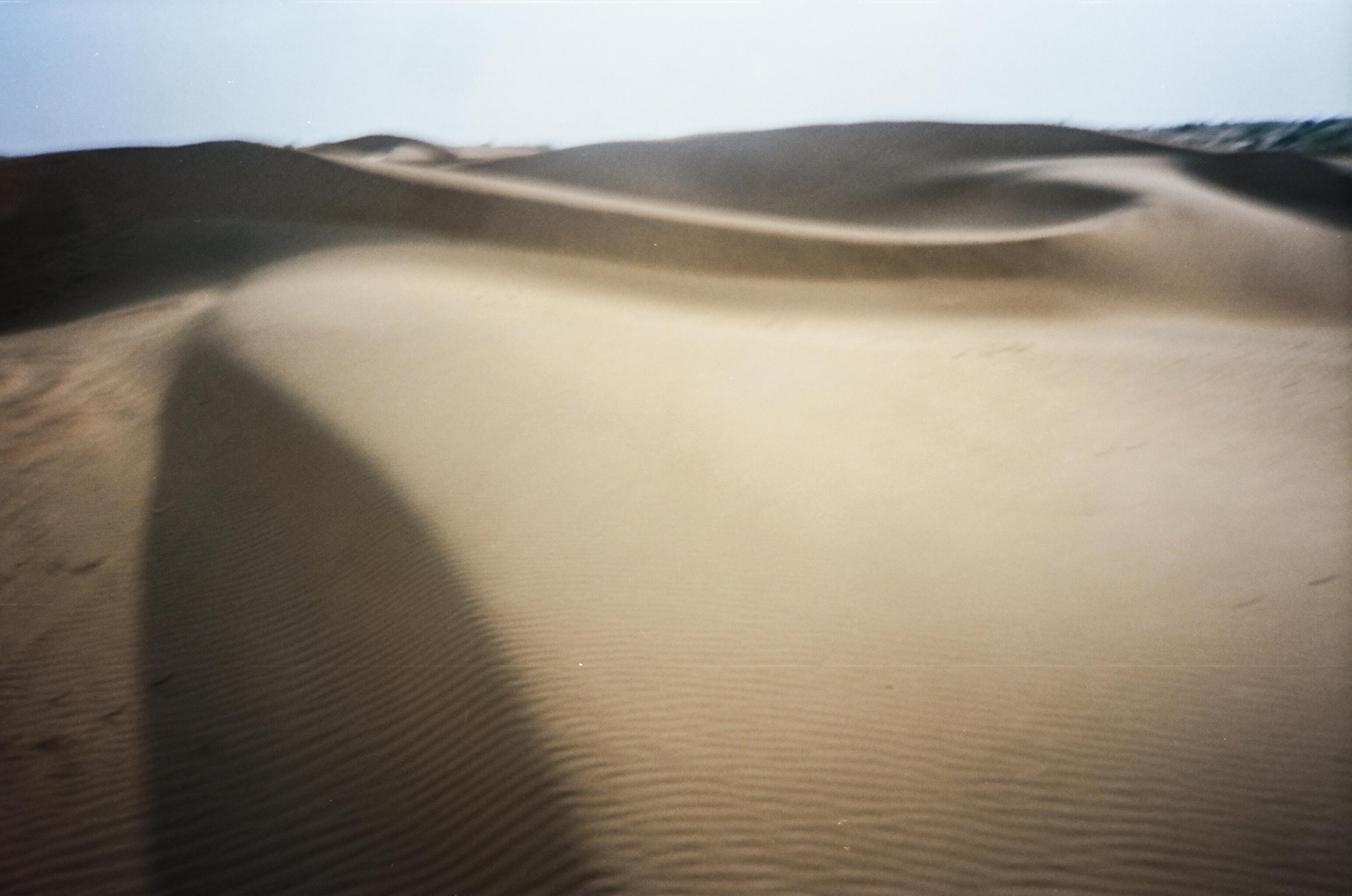 India desert sand dune landscape