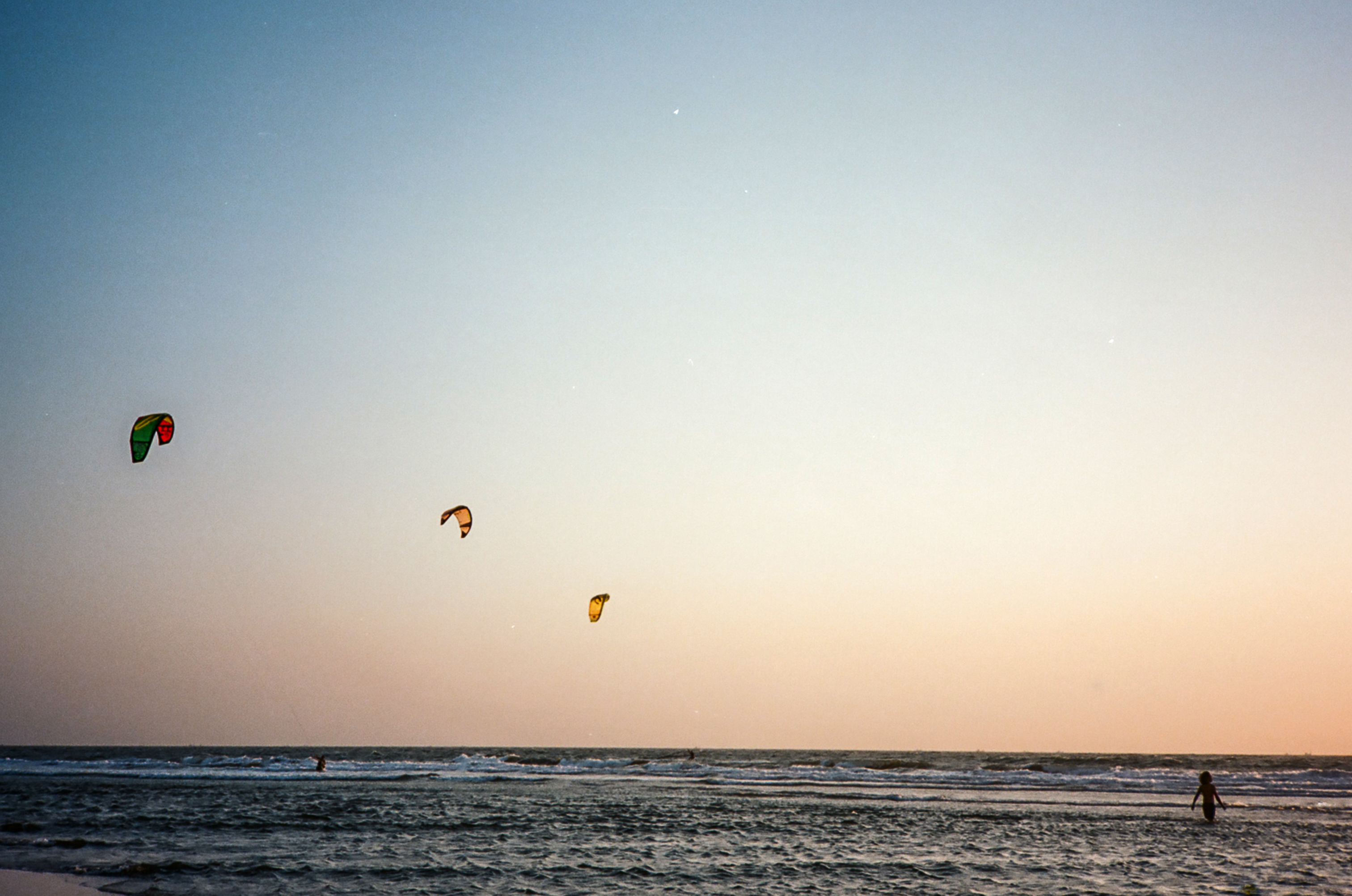 India beach sunset landscape