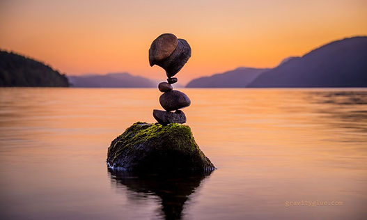 Balancing stones photo by gravityglue.com