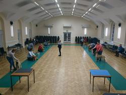 Inside Crosfield Hall