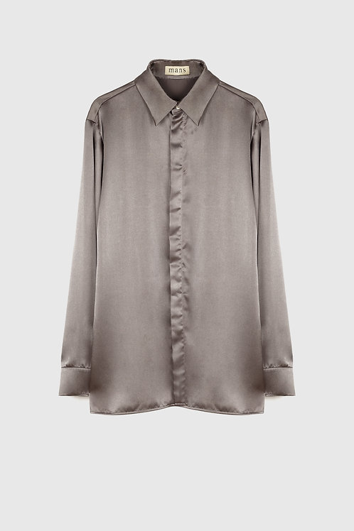 SATIN BASIC SHIRT