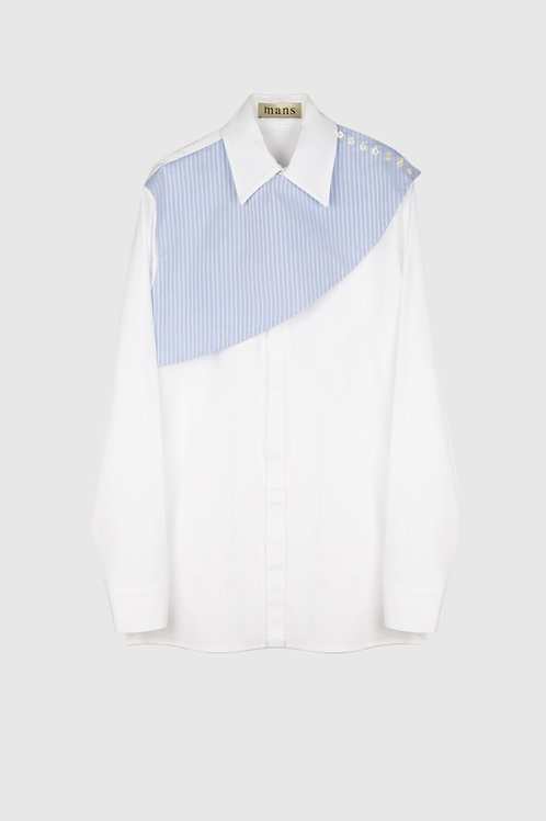 CROSS SHOULDER SHIRT