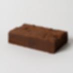 Belgian chocolate organic brownie