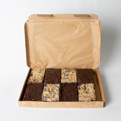 Vegan Mixed Brownie Box