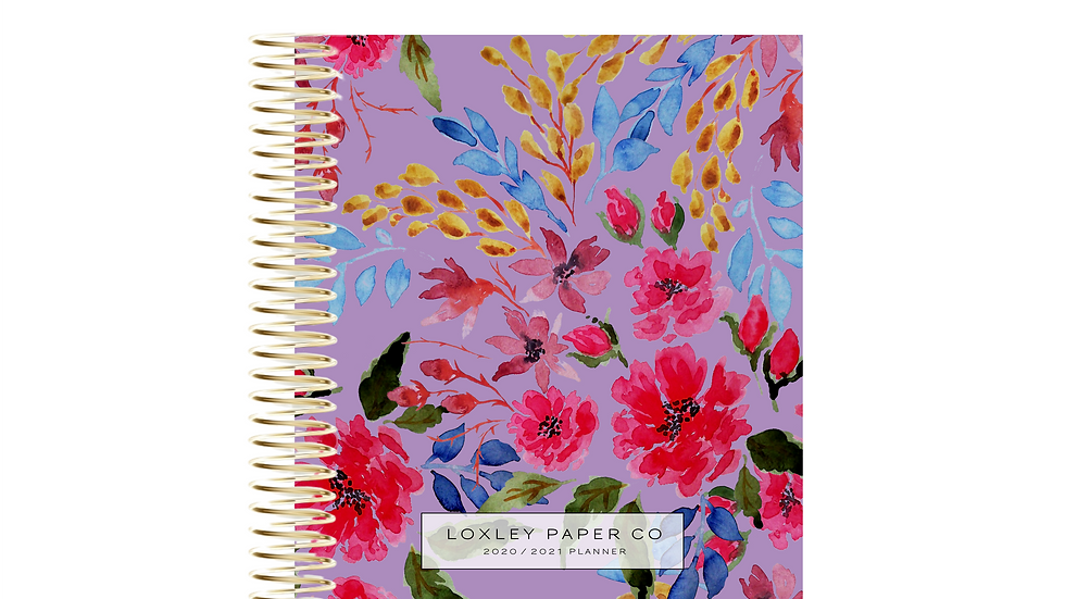 FY 2020/21 A5 Daily Planner