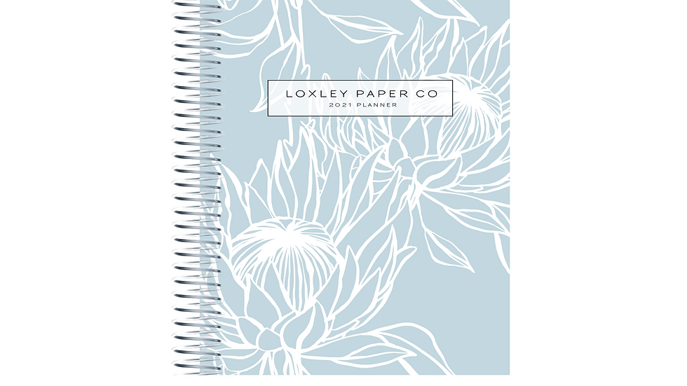 2021 B5 Daily Planner