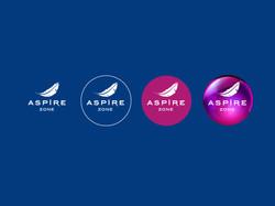 Aspire logo branding evolution