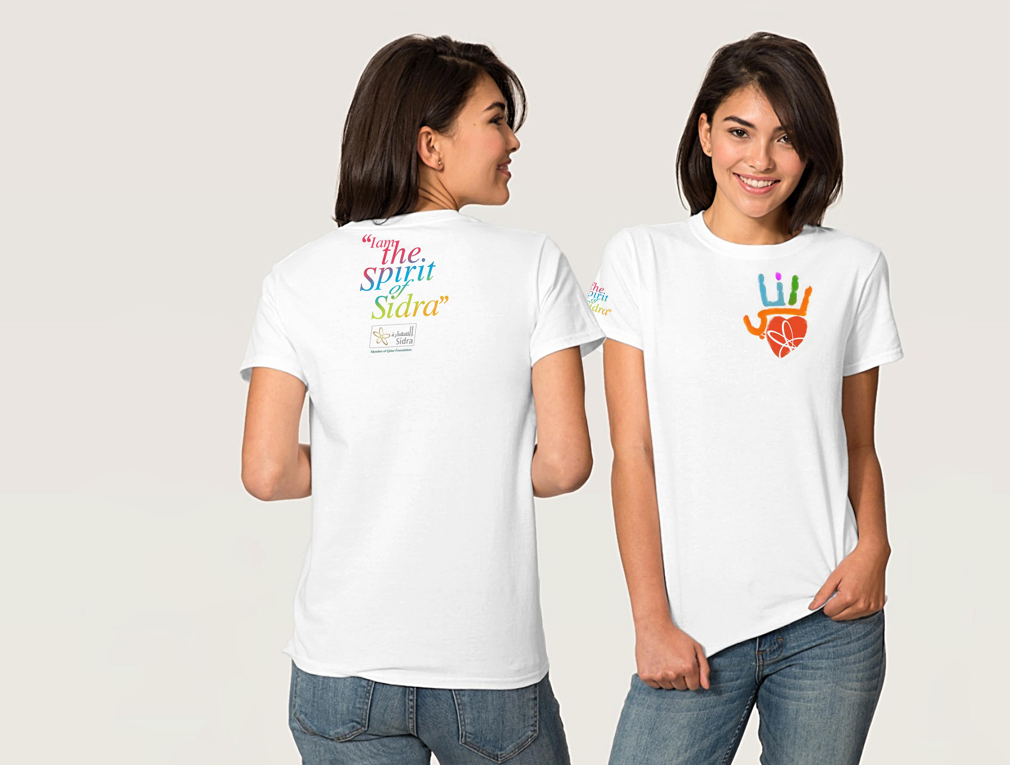 I AM SIDRA female tshirts