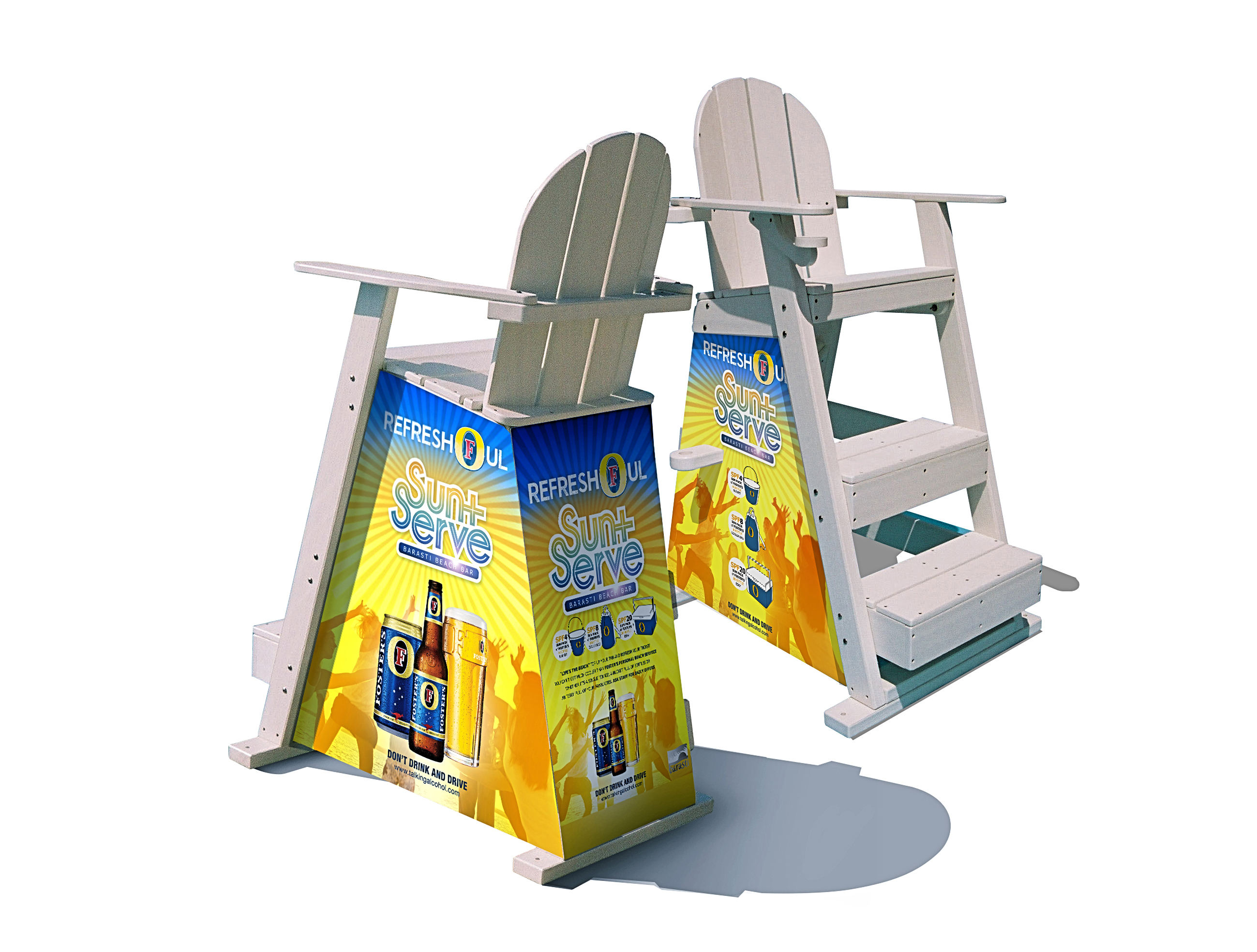 Sun+Serve PROMO lifeguard chair
