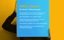 AMEX BOX words