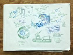 NIVEA MEN WC working layouts