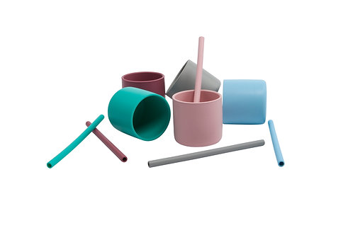 Pailles silicone