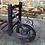 Thumbnail: Early c20th Single Wheel Wooden Porters Trolley